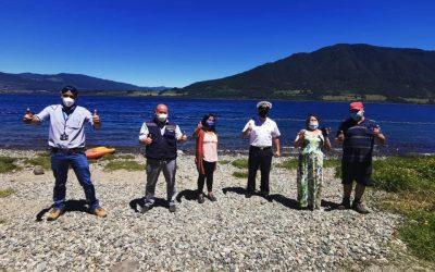 Municipalidad de Panguipulli habilita nueva playa pública en el Lago Riñihue