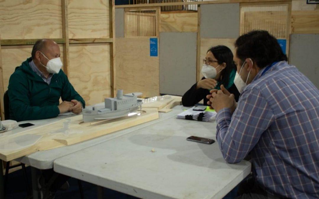 Presentan al Consejo de Monumentos Nacionales el proyecto de diseño de recuperación del Vapor Enco para su posterior ejecución