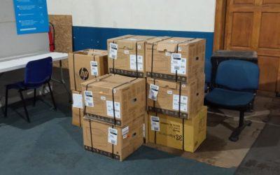 Municipalidad de Panguipulli agradece donación de 10 impresoras realizada por la empresa Intergrade