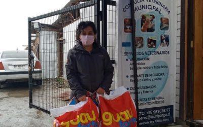 Programa de Tenencia Responsable entregó alimento para ir en apoyo de Agrupación Animalista de Choshuenco