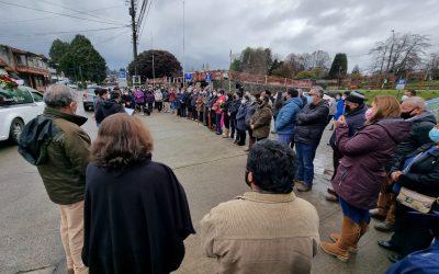 Funcionarios de la Municipalidad de Panguipulli despiden con profundo dolor a Belionides Rogel Cortés